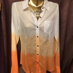 Button down western style shirt